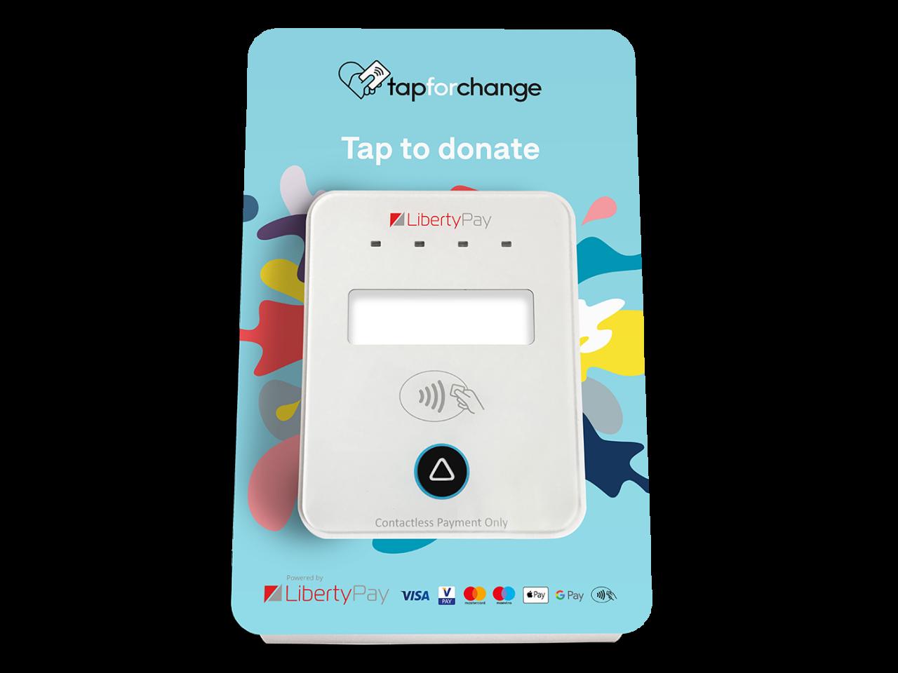 Liberty Pay Tap Donate