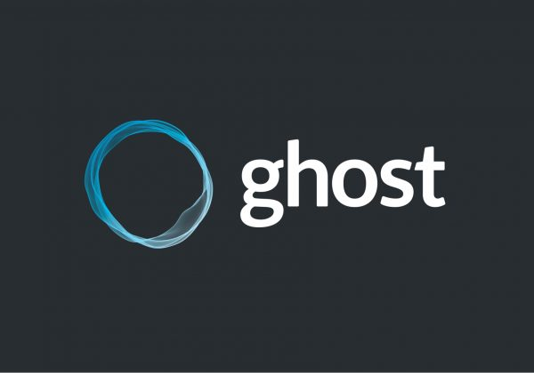 Ghost blog logo